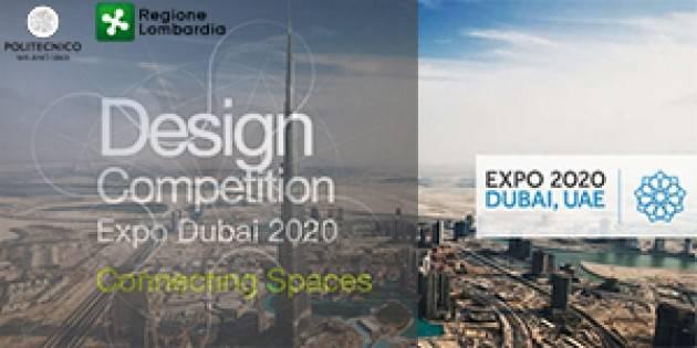 LNews-'DESIGN COMPETITION 2020', PRESENTATI I PROGETTI CHE RAPPRESENTERANNO LA LOMBARDIA ALL'EXPO DI DUBAI