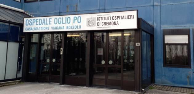 OGLIO PO, PILONI E FORATTINI (PD): 'A QUANDO IL POTENZIAMENTO DEL PRESIDIO OSPEDALIERO?'