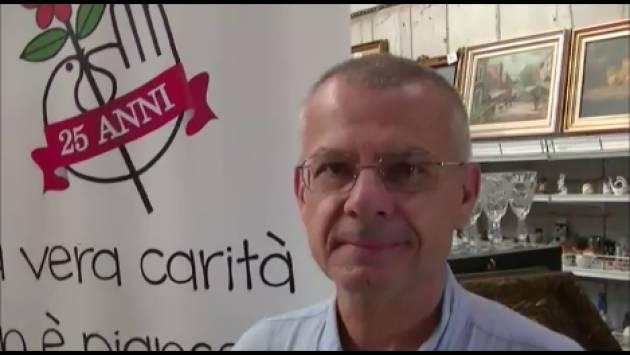 Emmaus Piadena compie 25 anni Intervista al Presidente Massimo Bondioli (Video G.C.Storti)