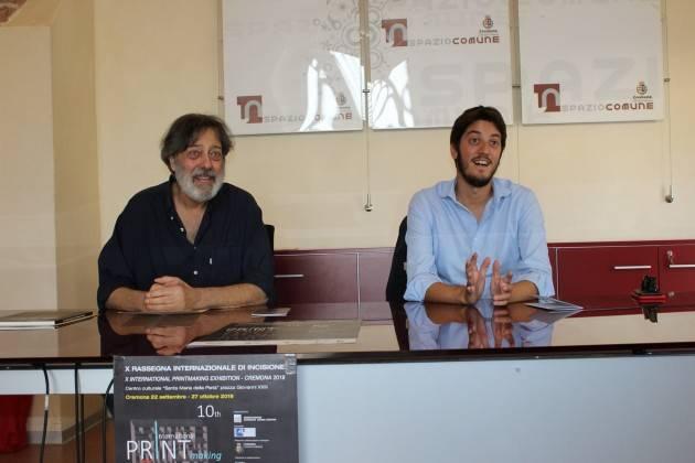 PRESENTATA LA X RASSEGNA INTERNAZIONALE DI INCISIONE - CREMONA 2019