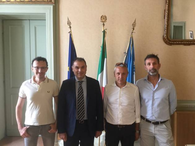 Il Presidente Provincia di Cremona Signoroni nel Casalasco e nel Cremonese