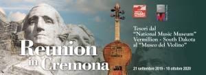 MDV Reunion in Cremona da 21 settembre 2019 al 18 ottobre 2020