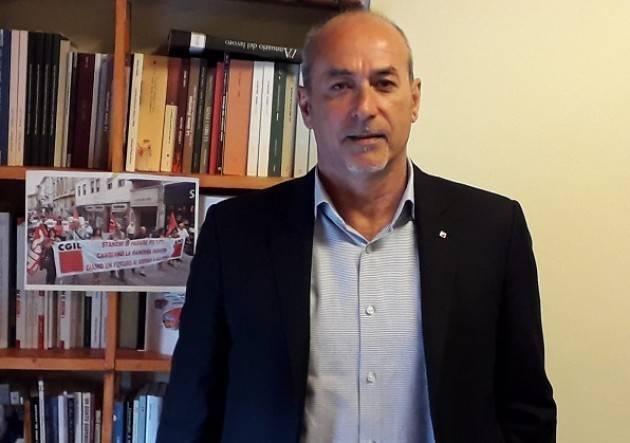 Marco Pedretti ( Cgil Cremona).Primo Incontro Cgil-Cisl-Uil con Conte 2.0 sicuramente positivo