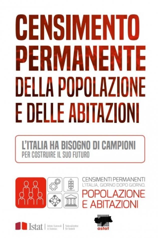 Cremona Dal 1° ottobre parte il censimento permanente per il 2019