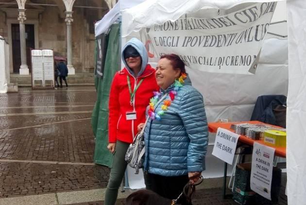 UICI Cremona alla Festa del Volontariato con iniziativa dal titolo 'A Drink in the Dark'
