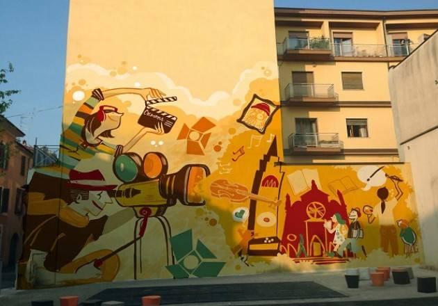 Murale di via Goito, da domani i lavori per la realizzazione