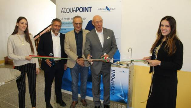 Inaugurato oggi un Acquapoint al Campus di Cremona