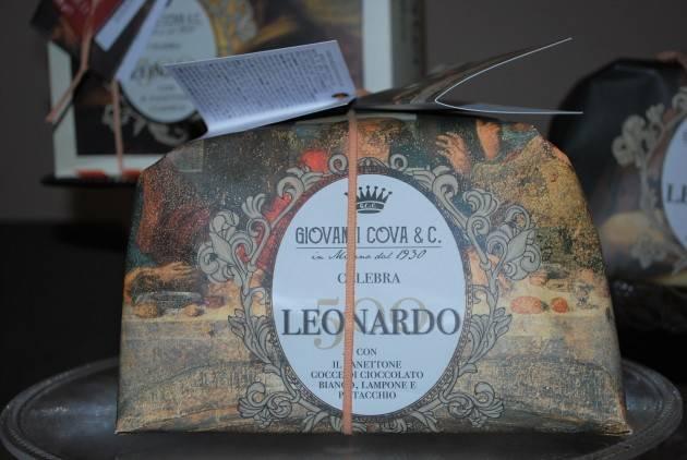 Milano GIOVANNI COVA & C. CELEBRA IL GENIO DI LEONARDO DA VINCI.