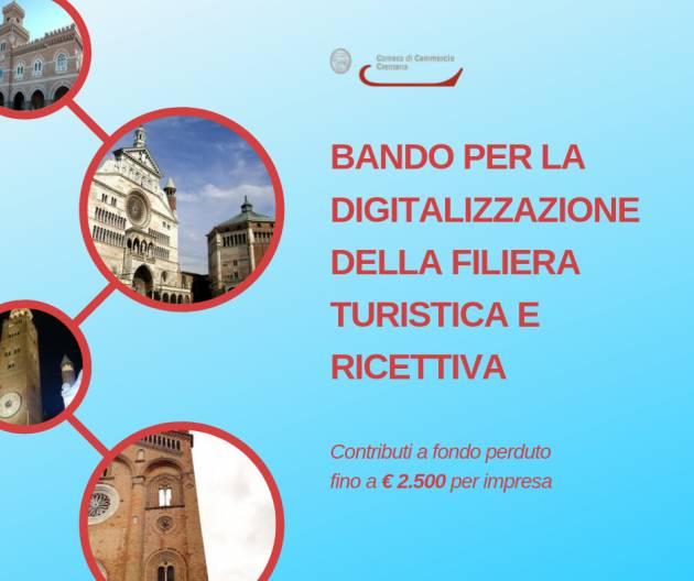 Cremona LE NOVITÀ BANDO DIGITALIZZAZIONE IMPRESE FILIERA TURISTICA E RICETTIVA