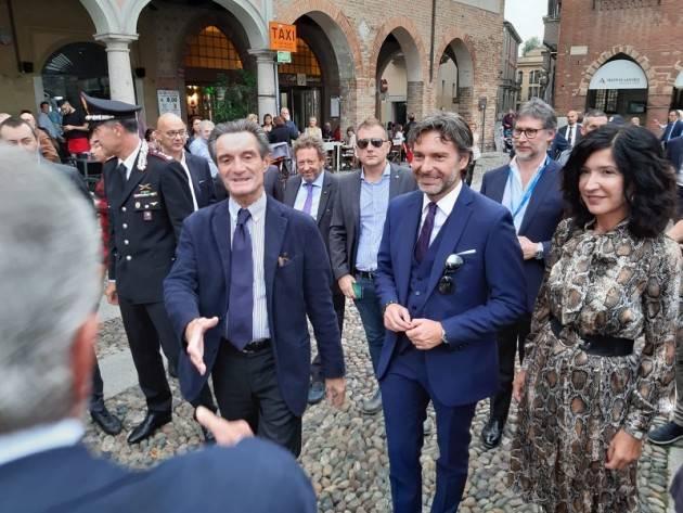 LNews-AGROALIMENTARE. PRESIDENTE FONTANA A LODI PER 'FORME DEL GUSTO'