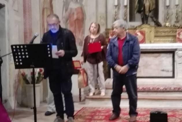 Giampietro Tenca (Gussola)   vince  il 1° Premio  Poesia  al Settembre Offanenghese 2019