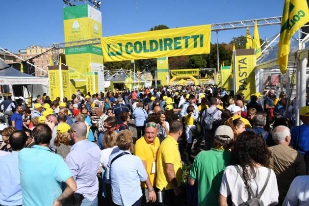 Coldiretti MADE IN IN ITALY, 600MILA VISITATORI AL VILLAGGIO COLDIRETTI A BOLOGNA