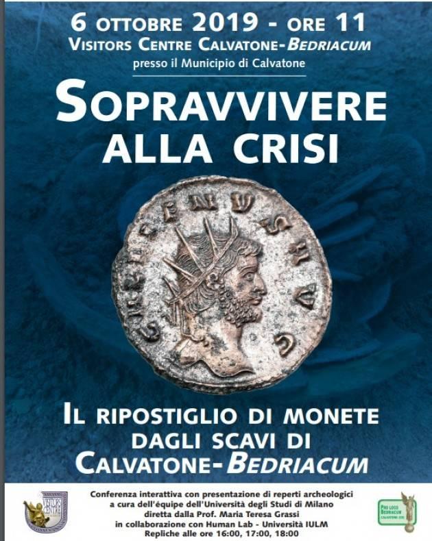 Sopravvivere alla crisi.  Il ripostiglio di monete dagli scavi di Calvatone-Bedriacum (Cremona)