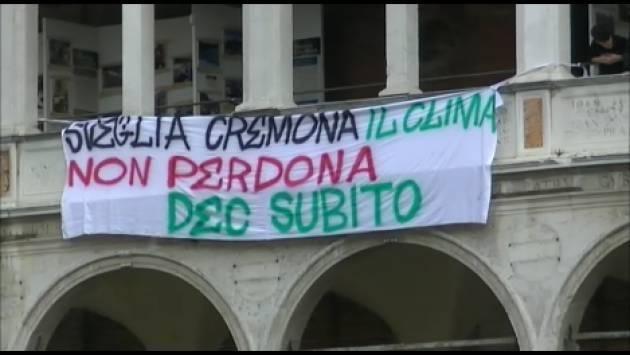 """Benito Fiori : 'Anche Cremona  si dichiari """"Città a emergenza climatica'"""