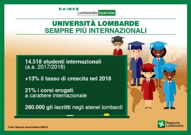 LNews-UNIVERSITA'. VICEPRESIDENTE F.SALA:OLTRE 14.000 STUDENTI STRANIERI