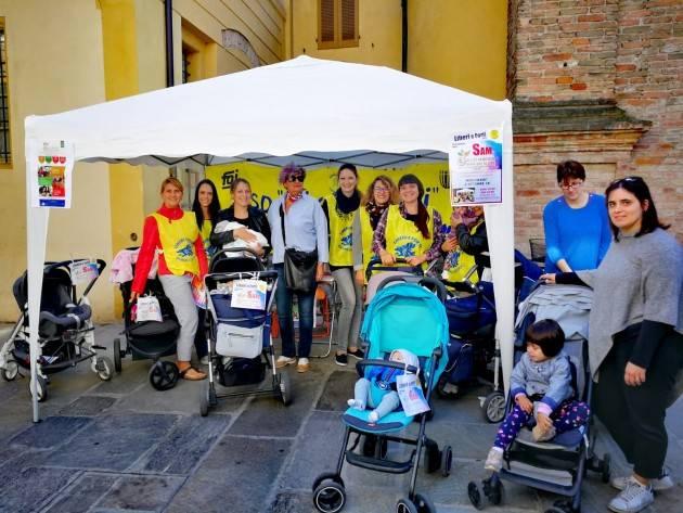 Castelleone Le mamme della 'Liberi e Forti ASD' celebrano la Settimana Allattamento Materno