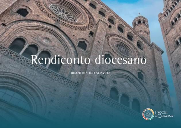 LA DIOCESI DI CREMONA PUBBLICA IL BILANCIO RENDICONTO ECONOMICO 2018