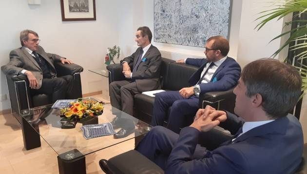 LNews-BRUXELLES, PRESIDENTE FONTANA: LOMBARDIA E' LEADER MA VUOL CRESCERE ANCORA
