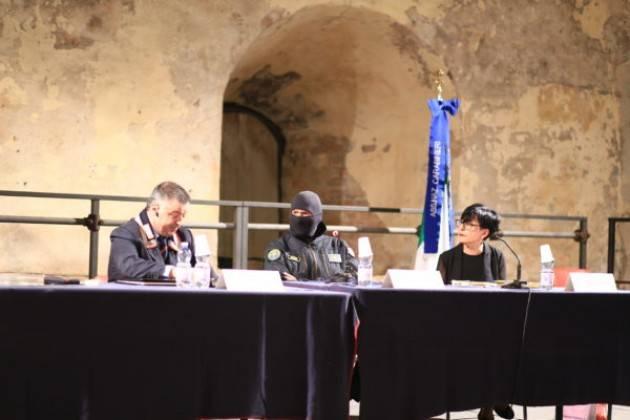 Pizzighettone (Cremona) Bagno di folla per il Comandante Alfa