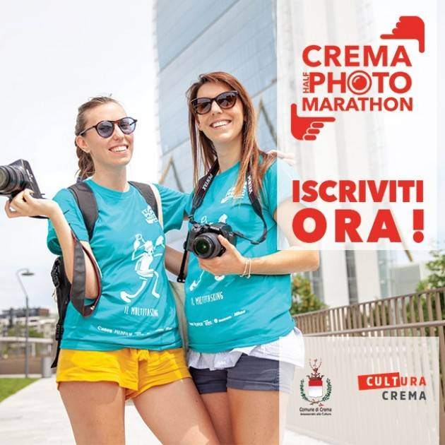 Cremona Fa tappa a Crema la Half Photo Marathon domenica 13 ottobre 2019
