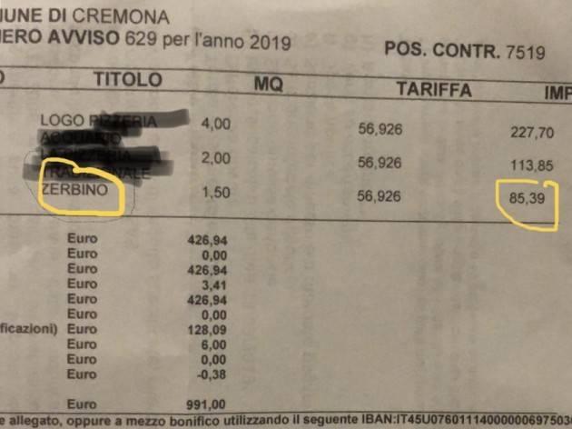 Cremona Zagni (Lega)  No alla tassa sullo zerbino dei negozi