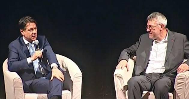Incontro Governo Manovra Landini (Cgil) 'Confronto iniziato, è il momento delle risposte'