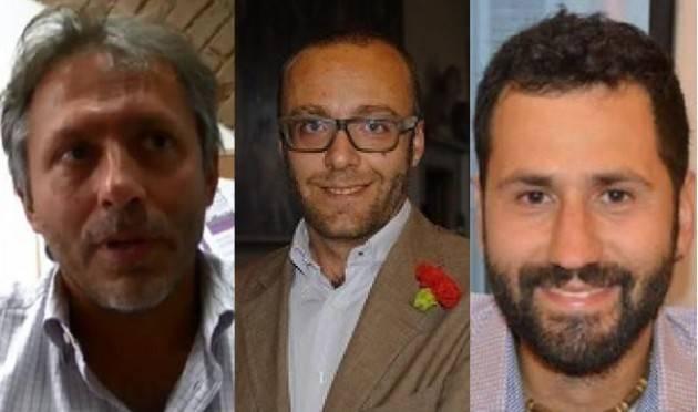 Cremona Taglio Parlamentari. Andrea  Virgilio, Jacopo Bassi e Paolo Carletti- dirigenti del PD- non sono d'accordo.