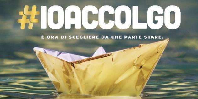 Cremona  #IoAccolgo – campagna per l'accoglienza e la solidarietà. Presidio sabato 12 dalle 17 alle 19