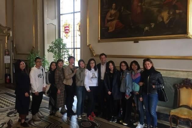 Visita di una decina di tour operator cinesi a Cremona