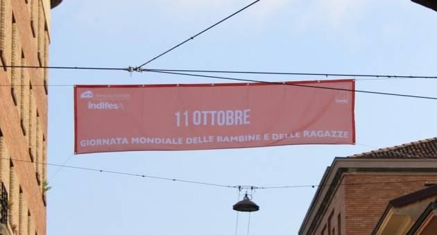 Cremona Giornata Mondiale delle Bambine L'11 ottobre il Comune si tinge di arancione