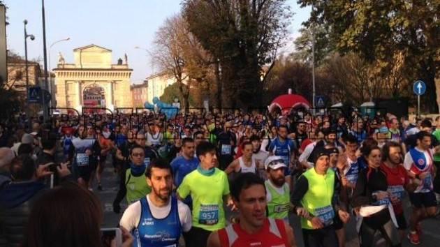 Percorso velocissimo per la 13°  Maratonina di Crema  il prossimo 10 novembre 2019