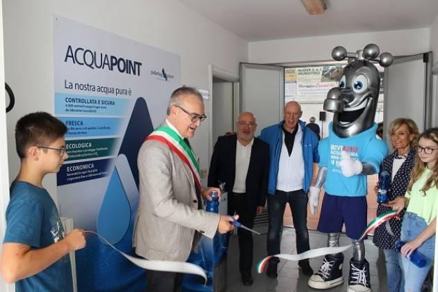 Vescovato, Padania Acque Cremona : inaugurato il corner Acqua Point al Palazzetto dello Sport