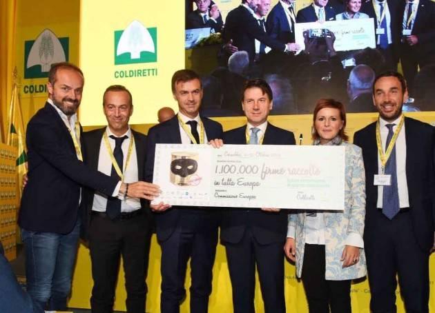 Coldiretti Lombardia Consumi, petizione stop cibi falsi:raccolto 1,1 mln firme in Europa, 60mila adesioni