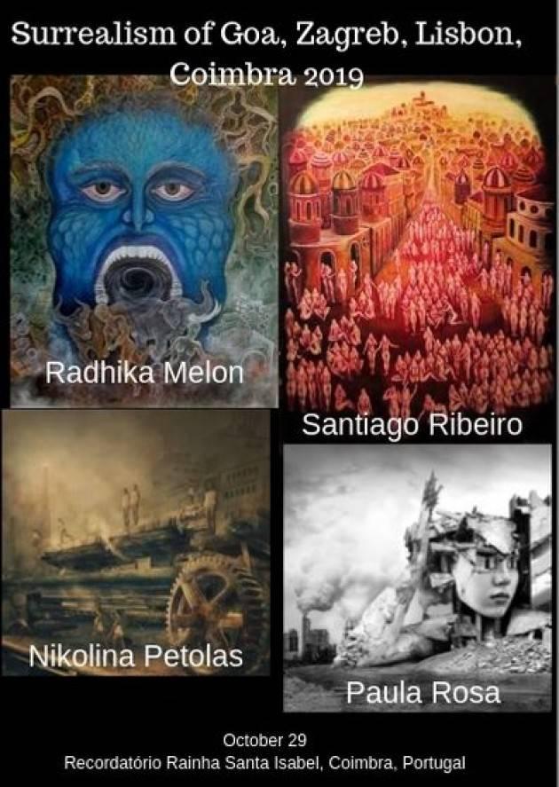 Esposizione internazionale del surrealismo del secolo. 21 a Coimbra, in Portogallo