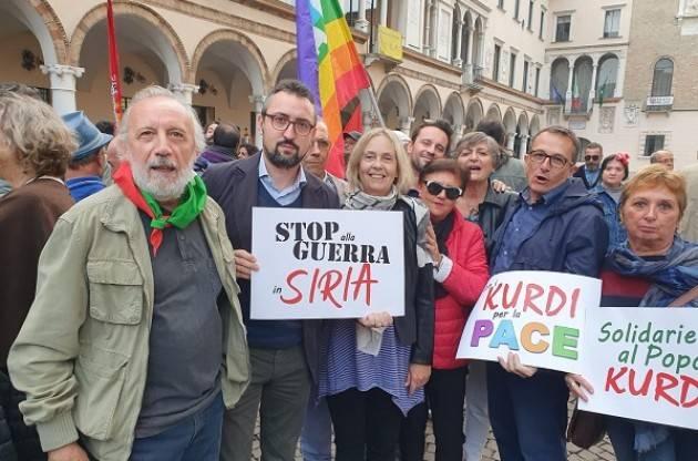 Il Cremasco in piazza  per dire NO alla guerra Turca contro il popolo Curdo