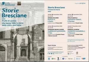 Centro Teatrale Bresciano e Centro Studi RSI presentano Storie Bresciane Evento del 16 nov