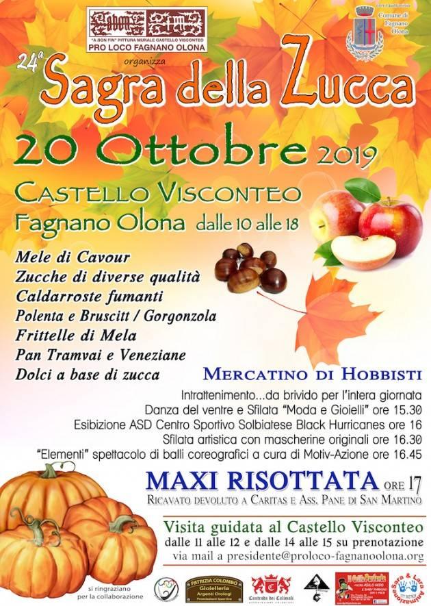 Sagra della Zucca a Fagnano Olona il 20 Ottobre