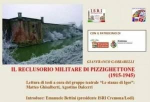 L'ECO AGENDA EVENTI - IL RECLUSORIO MILITARE DI PIZZIGHETTONE 1915-1945