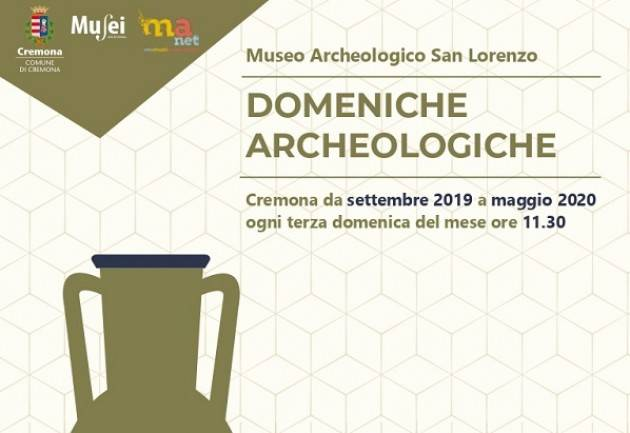 Il 20 ottobre tornano le Domeniche archeologiche al Museo di San Lorenzo