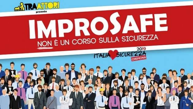 ImproSafe - Non è un corso sulla sicurezza sabato 19 ottobre al Teatro Monteverdi