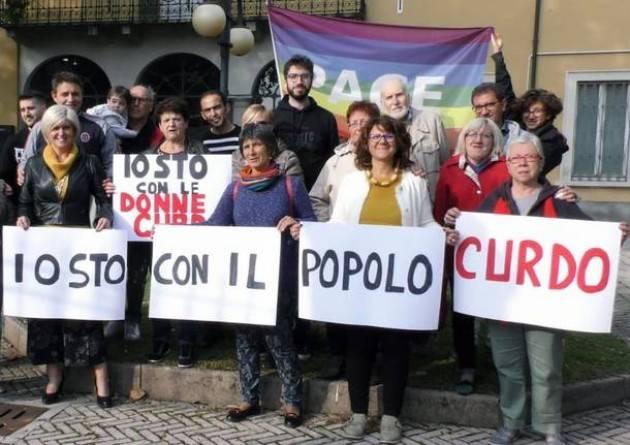 Cremona  PER LA PACE, IN DIFESA DEL POPOLO CURDO A palazzo comunale sabato 19 ottobre ore 17