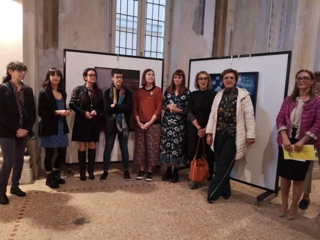 Crema Inaugurata Mostra d'Arte  Soroptimist 'Sguardi al femminile sull'ambiente..'