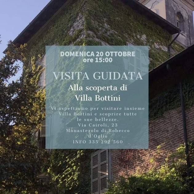 Robecco d'Oglio (CR) Tutti i colori dell'autunno nel parco di Villa Bottini La Limonaia!