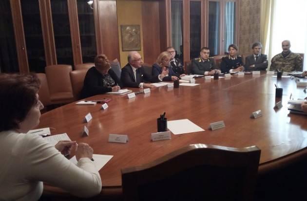 Cremona Vertice in Prefettura nella 'Settimana della Protezione Civile'