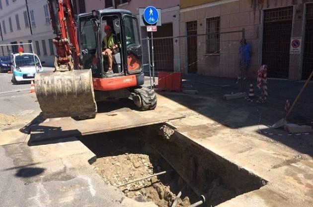 Cremona, Padania Acque : Da lunedì 21 ottobre al via il cantiere fognario in via Bissolati