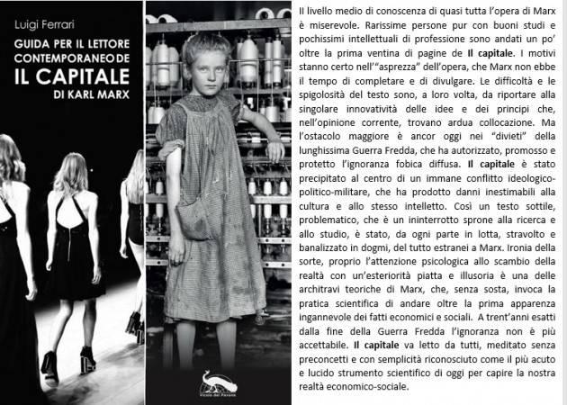 A Cremona Presentazione volume 'Guida per il lettore contemporaneo de Il Capitale' Venerdì 25 ottobre