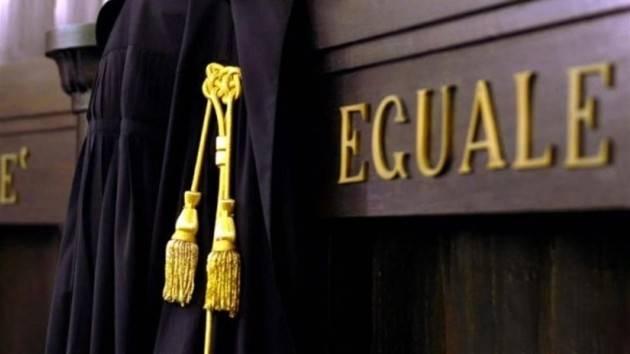 2020: ODISSEA NEL PROCESSO astensione dalle udienze indetta dall' Unione Camere Penali dal 21 al 25 Ottobre