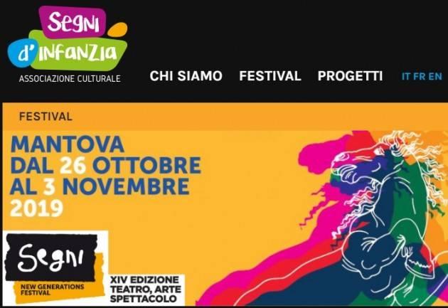 MANTOVA SEGNI D'INFANZIA  | NEW GENERATION FESTIVAL XIV edizione dal 26 ottobre - 3 novembre 2019