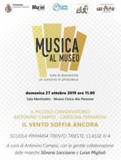 Cremona Il Piccolo Conservatorio della primaria Trento e Trieste per la rassegna Musica al Museo