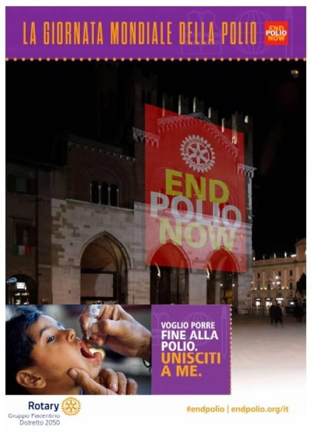 End Polio Now: anche i Rotary Club piacentini sostengono la campagna mondiale